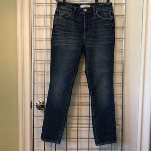 Trave Irina dark wash slim leg jeans